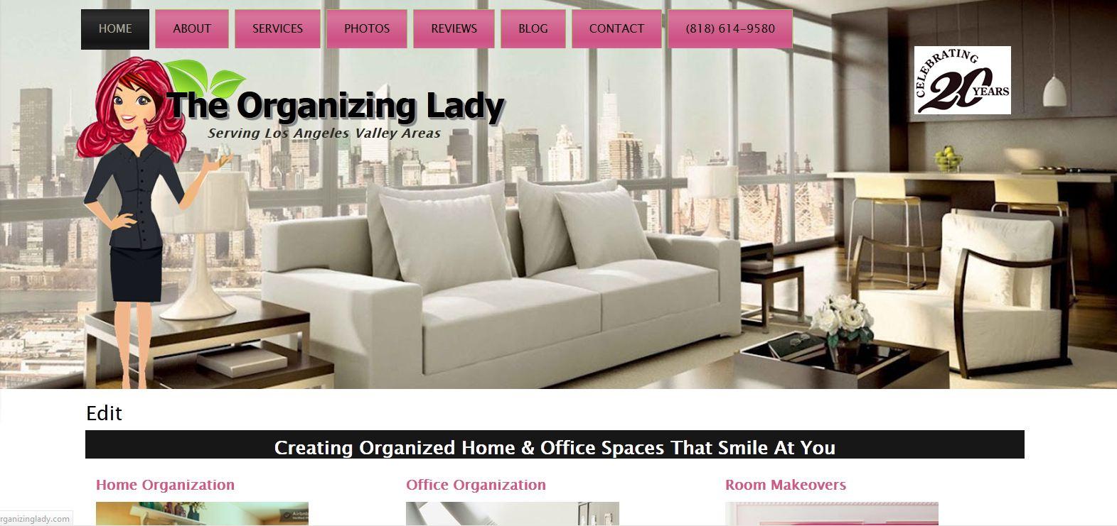 Organizing Lady