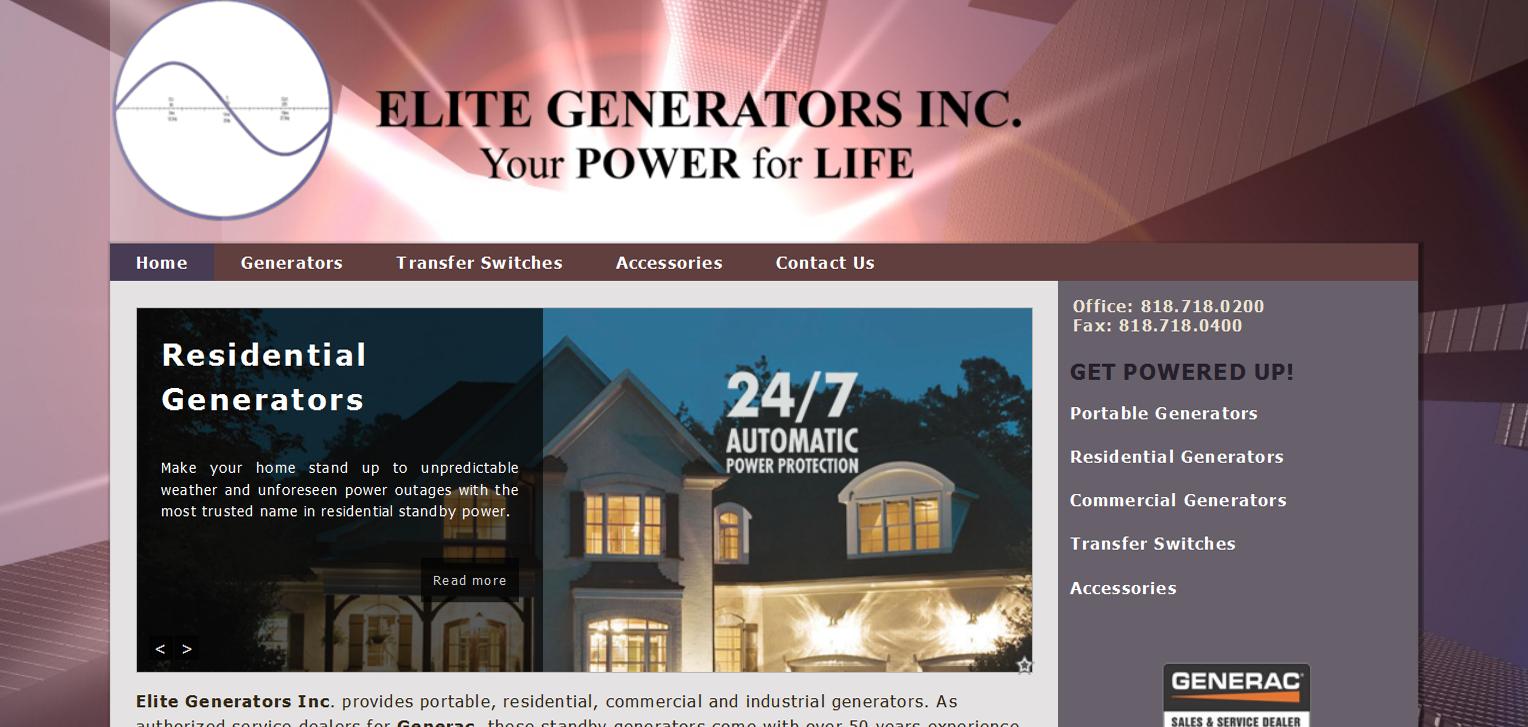 Elite Generators