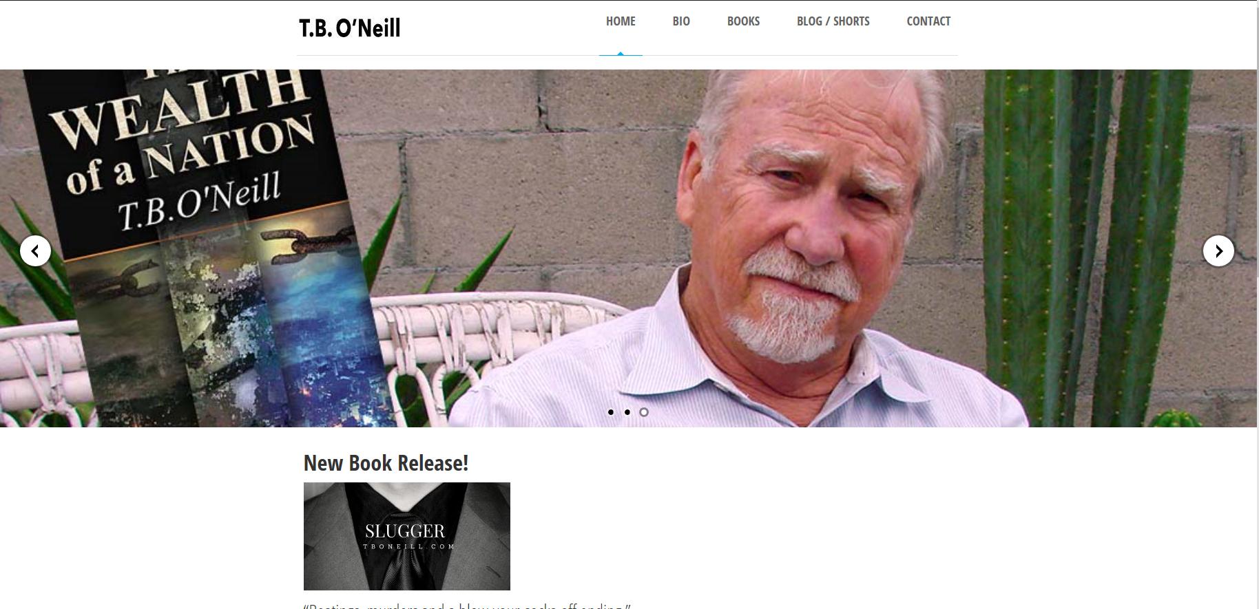 TB O\'Neill, author